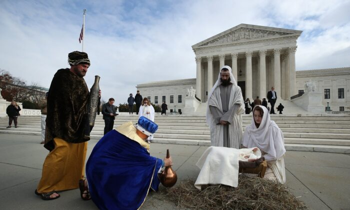 Growing Majority of State Capitols Will Have Christmas Nativity Scenes in December