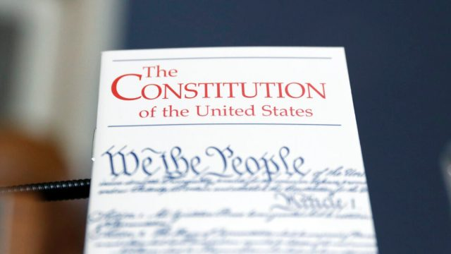 https://www.gettyimages.com/detail/news-photo/copy-of-the-u-s-constitution-is-propped-up-in-front-of-the-news-photo/1189256907