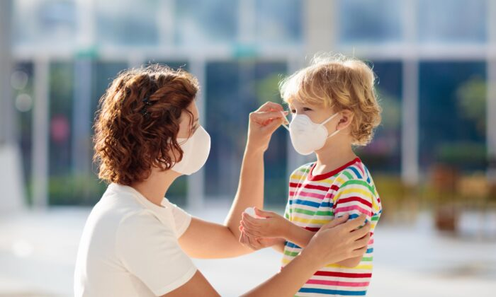 While we hope masks offer protection against COVID-19, research finds that may not be true and they may cause other health problems. (FamVeld/Shutterstock)