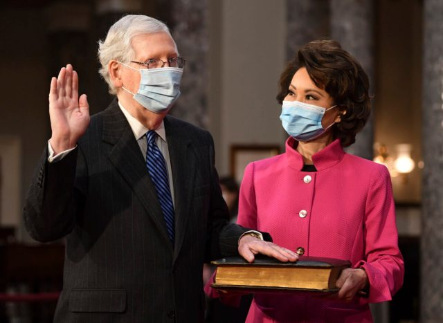 Transportation Secretary Elaine Chao, McConnell's Wife ...