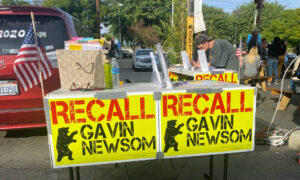 California Lawmakers Debate Privacy Rights of Recall Petitioners