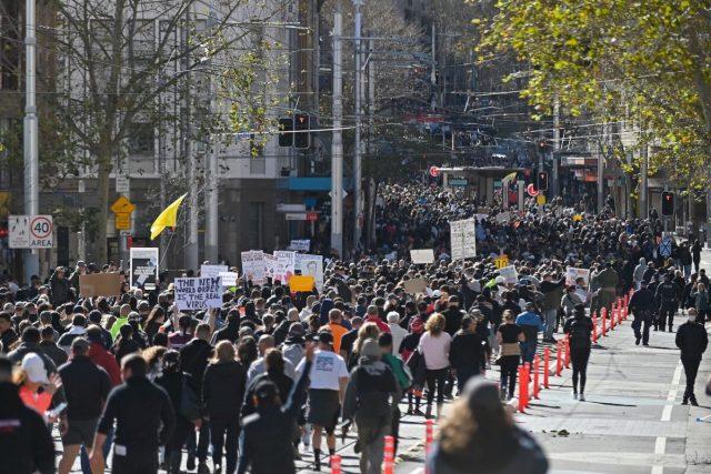 lockdown protest