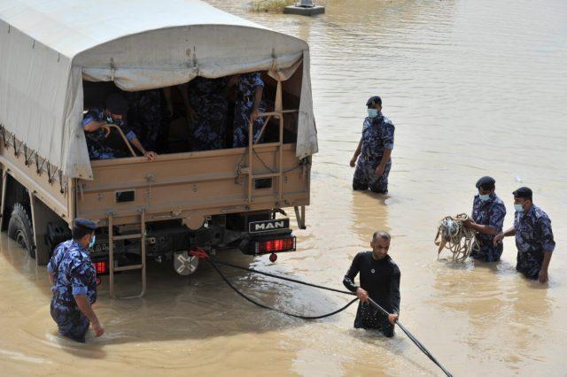 Cyclone Shaheen in Al Musana