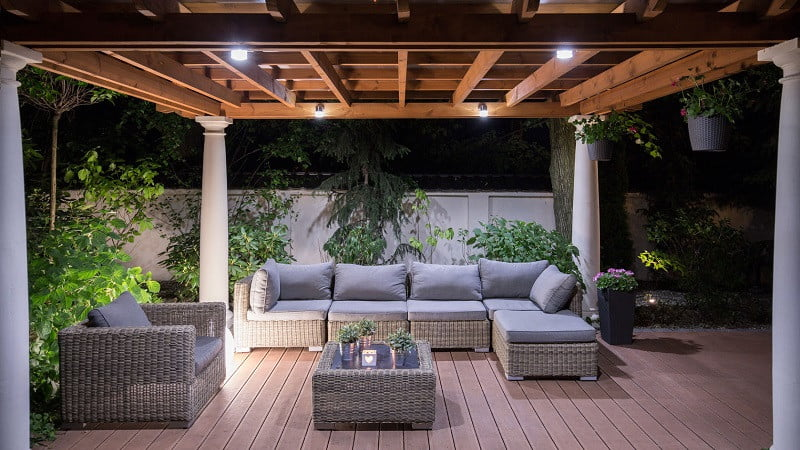 outdoor living rooms pictures wood floor sunken room get the you ve always wanted manual 42093184 picture of arbour with comfortable garden furniture