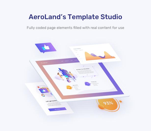 AeroLand - Responsive App Landing and Website WordPress Theme - 12