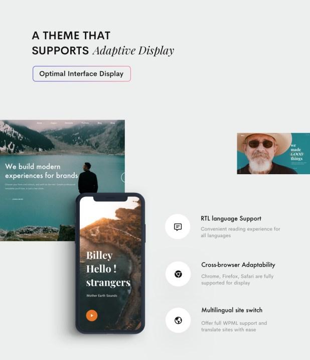Billey - Creative Multipurpose WordPress Theme - 8