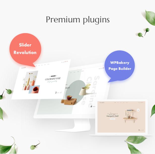 Handmade shop WooCommerce WordPress Theme - premium plugins for handmade store