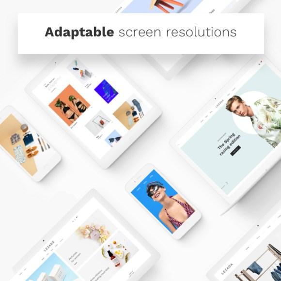 Fashion WooCommerce WordPress Theme - Adaptable Screen Resolutions