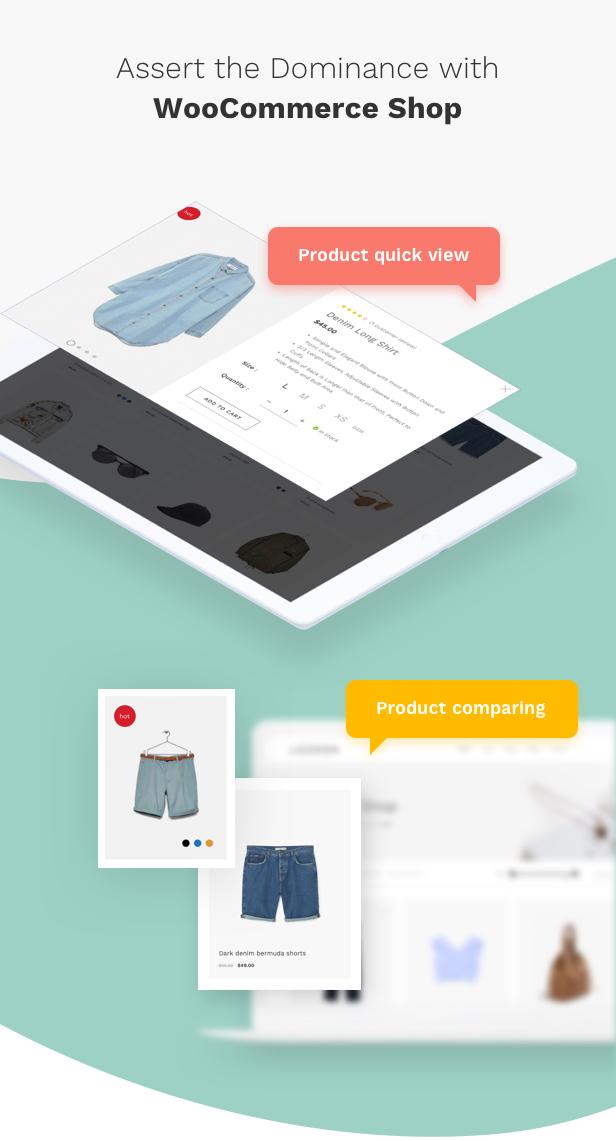 Fashion WooCommerce WordPress Theme - WooCommerce Shopping Features