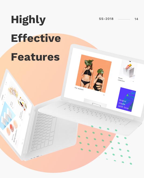 Fashion WooCommerce WordPress Theme - Effective Theme Features