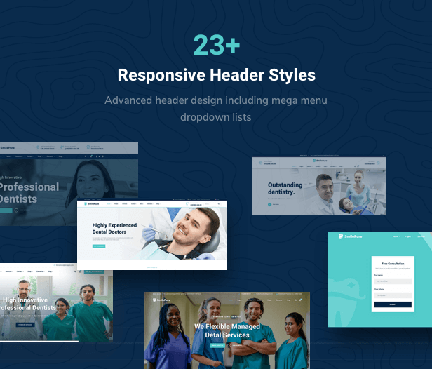 SmilePure - Dental & Medical Care WordPress Theme - 10