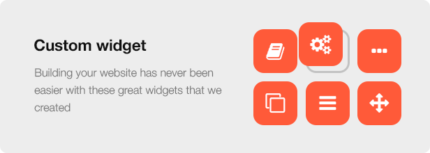 Interior Design WordPress Theme - Custom Widget