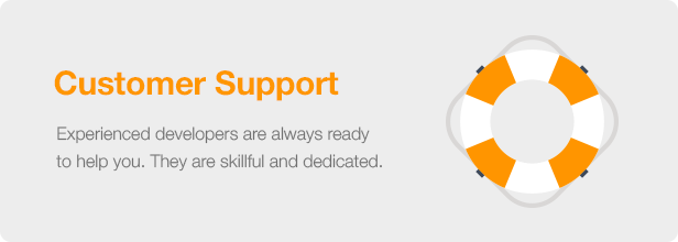 Interior Design WordPress Theme - Customer Support