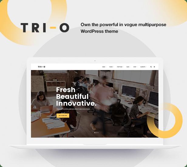 Interior Design WordPress Theme - Purchase TriO