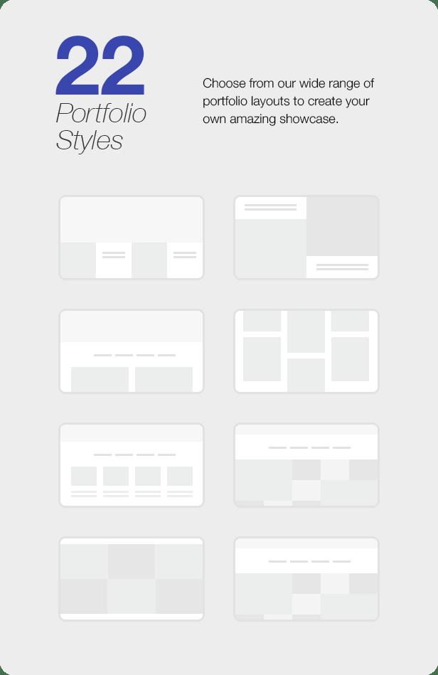 Interior Design WordPress Theme - 22 Portfolio Styles