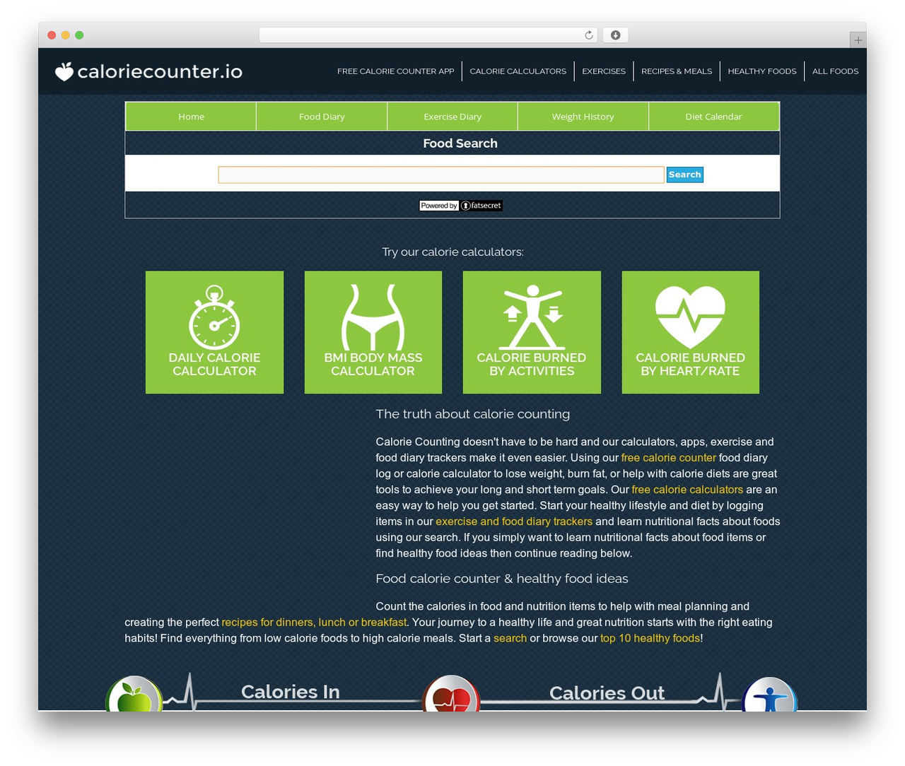 Best Wordpress Template Adam - Eve - Caloriecounter.io