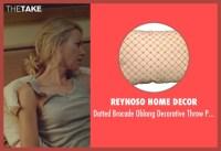 Naomi Watts Reynoso Home Decor Dotted Brocade Oblong ...