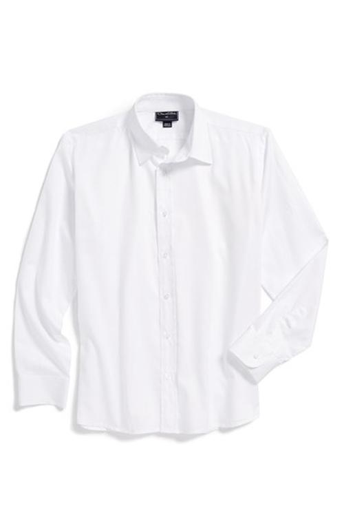 Dillon Mitra Oscar de la Renta Long Sleeve Cotton Dress