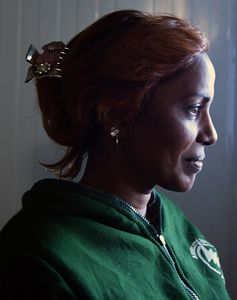 Geeta Raj, an inmate of Al-Hol camp