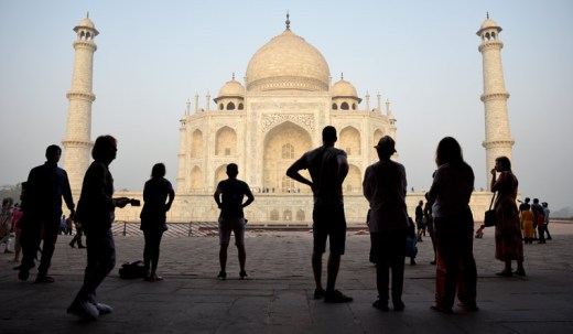 [FILE] Tourists visit Taj Mahal in Agra | AP