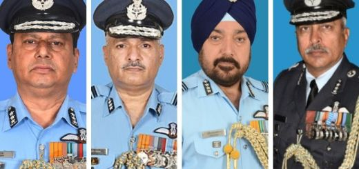 Race hots up for post of IAF chief as govt zeroes in on four names