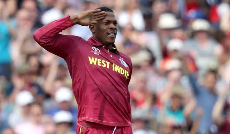 IPL auction: Sheldon Cottrell 'salutes' his way to Kings XI Punjab - The  Week