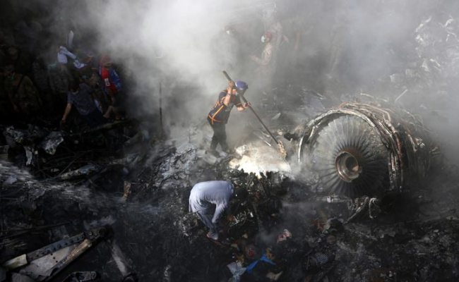 Dozens Dead As Pakistan Plane With 107 On Board Crashes In