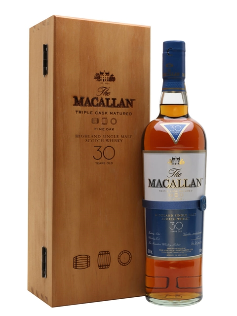 Macallan 1989 - 30 Year Old - XOP The Black Series Scotch Whisky : The Whisky Exchange