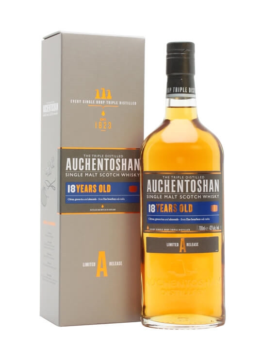 Auchentoshan 18 Year Old Scotch Whisky The Whisky Exchange