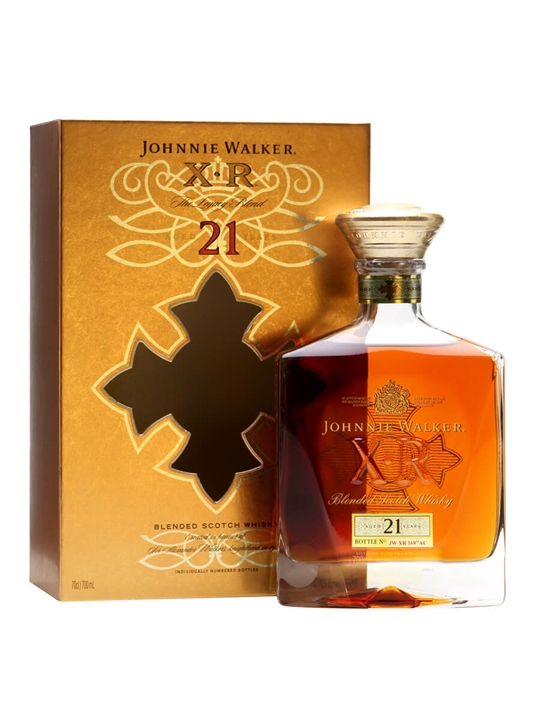 Johnnie Walker XR  21 Year Old  The Whisky Exchange