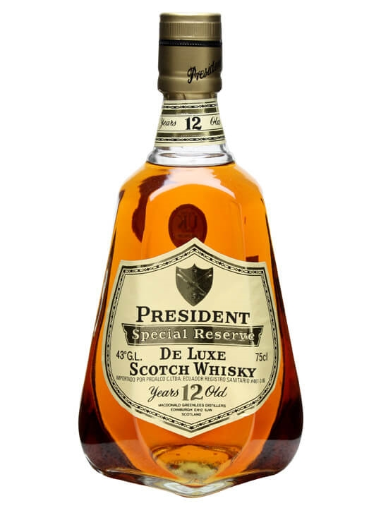 President Special Reserve 12 Year Old The Whisky Exchange
