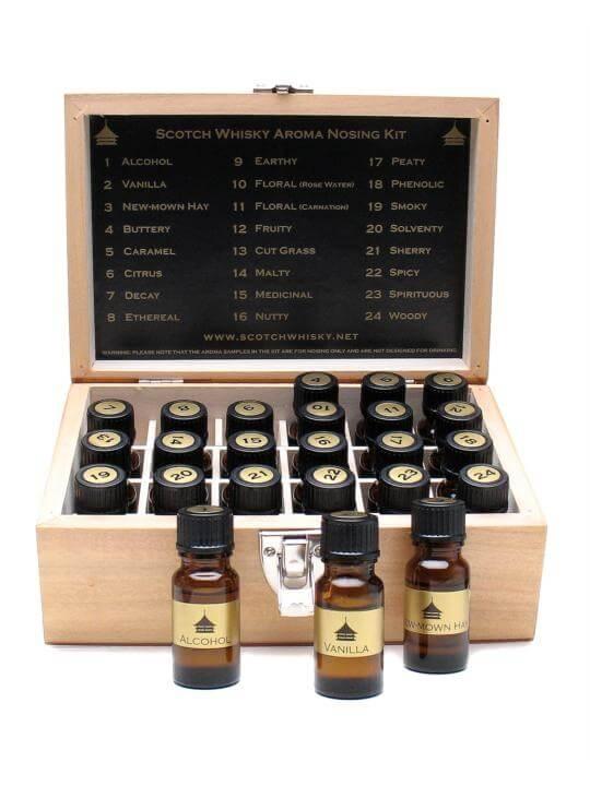 scotch whisky aroma nosing