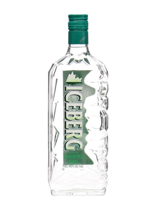Iceberg London Dry Gin Buy From The Whisky Exchange