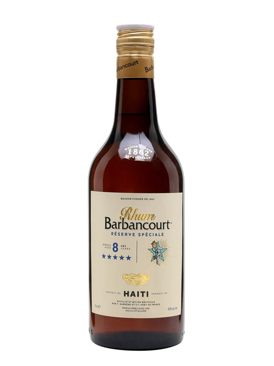 Barbancourt 5 Star Rum  8 Year Old  The Whisky Exchange