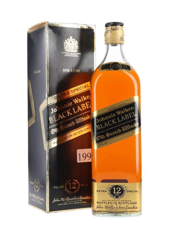 Johnnie Walker Black Label 12 Year - Bot.1980s