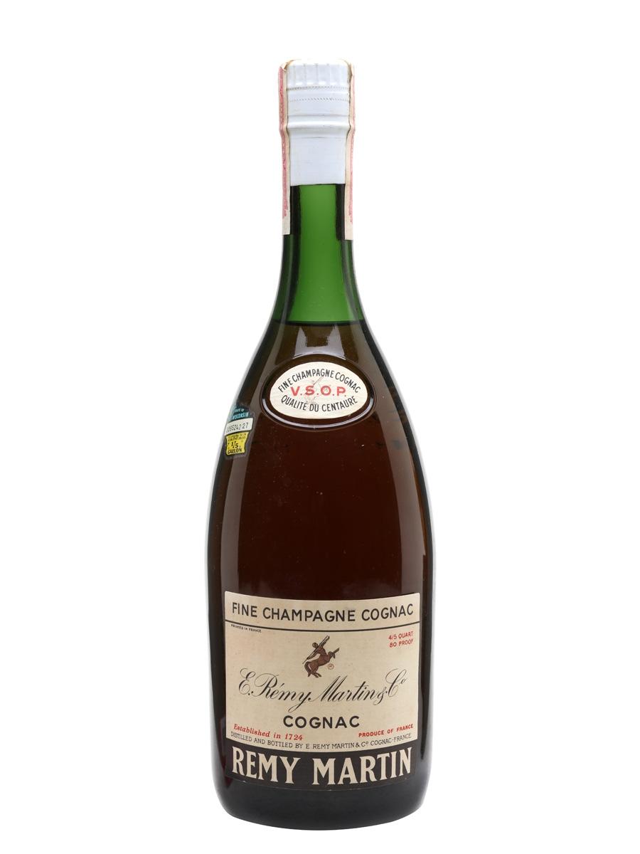 Remy Martin Vsop Label : martin, label, Martin, Cognac, Champagne, Bot.1960s, Whisky, Exchange