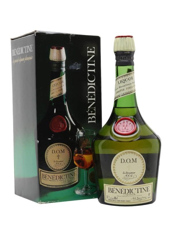Benedictine Liqueur - Bot.1970s Whisky Exchange