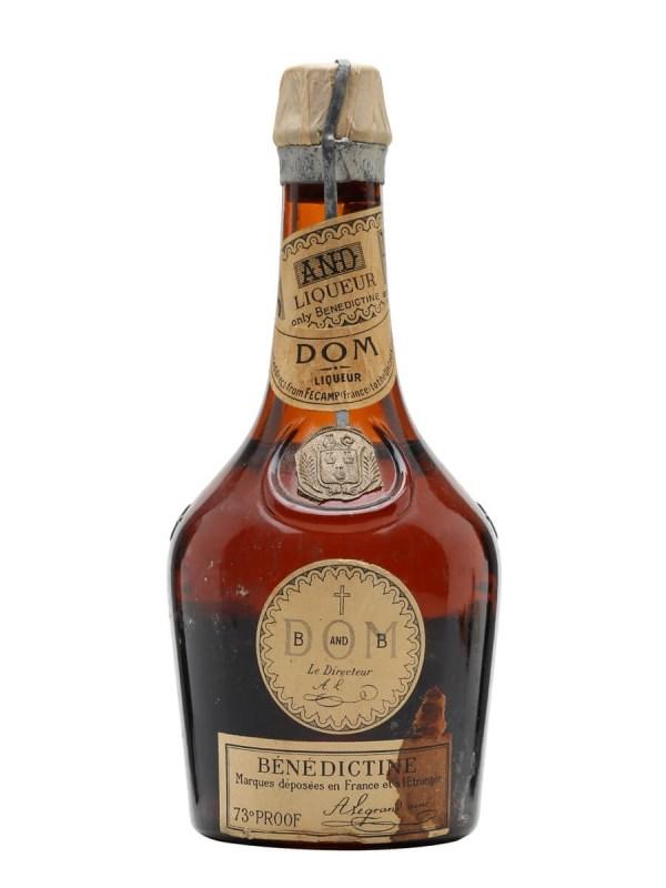 Benedictine And Liqueur - Bot.1970s Whisky Exchange
