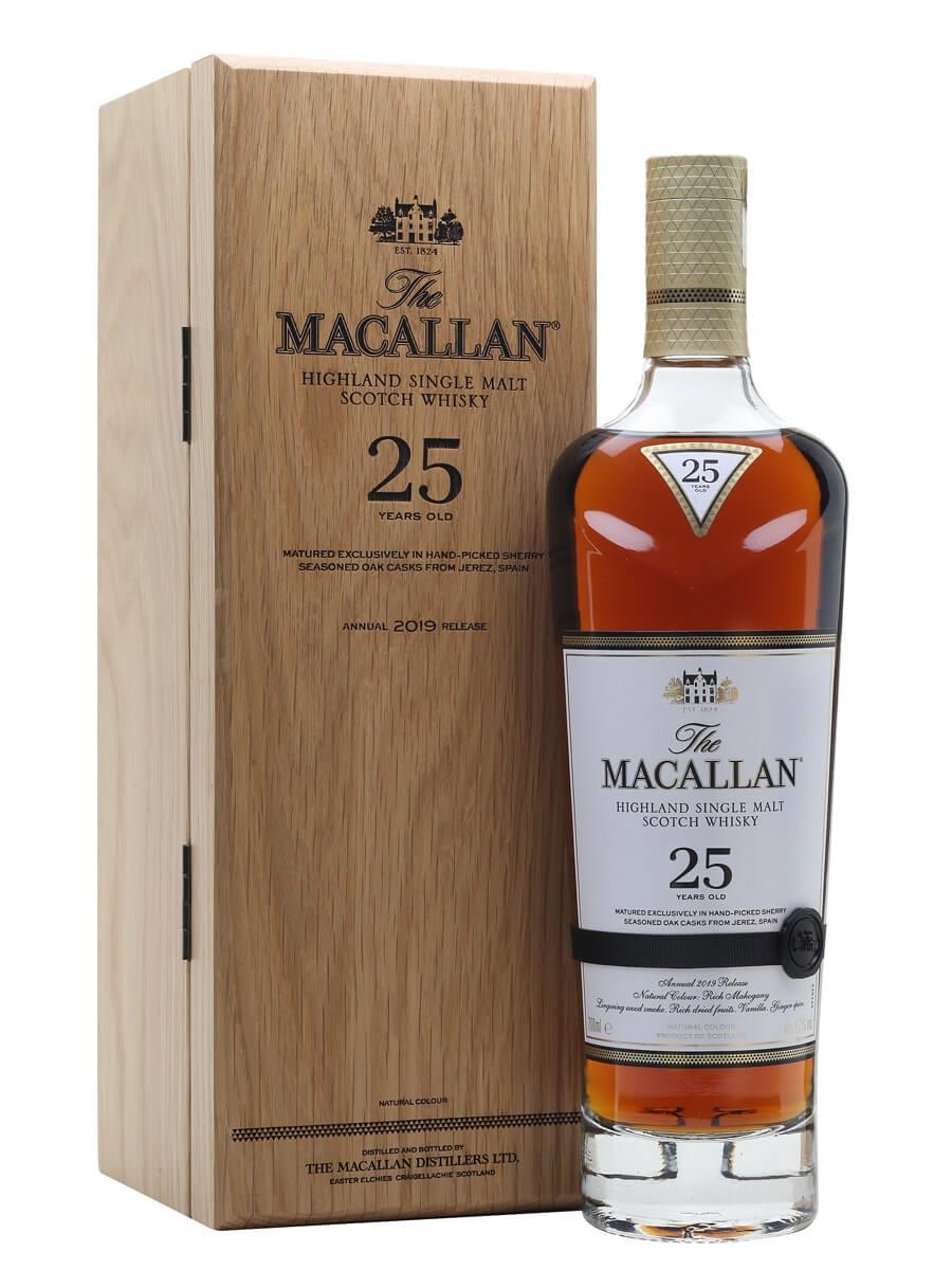 Macallan 25 Year Old / Sherry Oak / 2019 Release