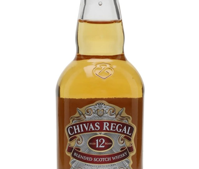 Chivas Regal  Year Old Miniature The Whisky Exchange