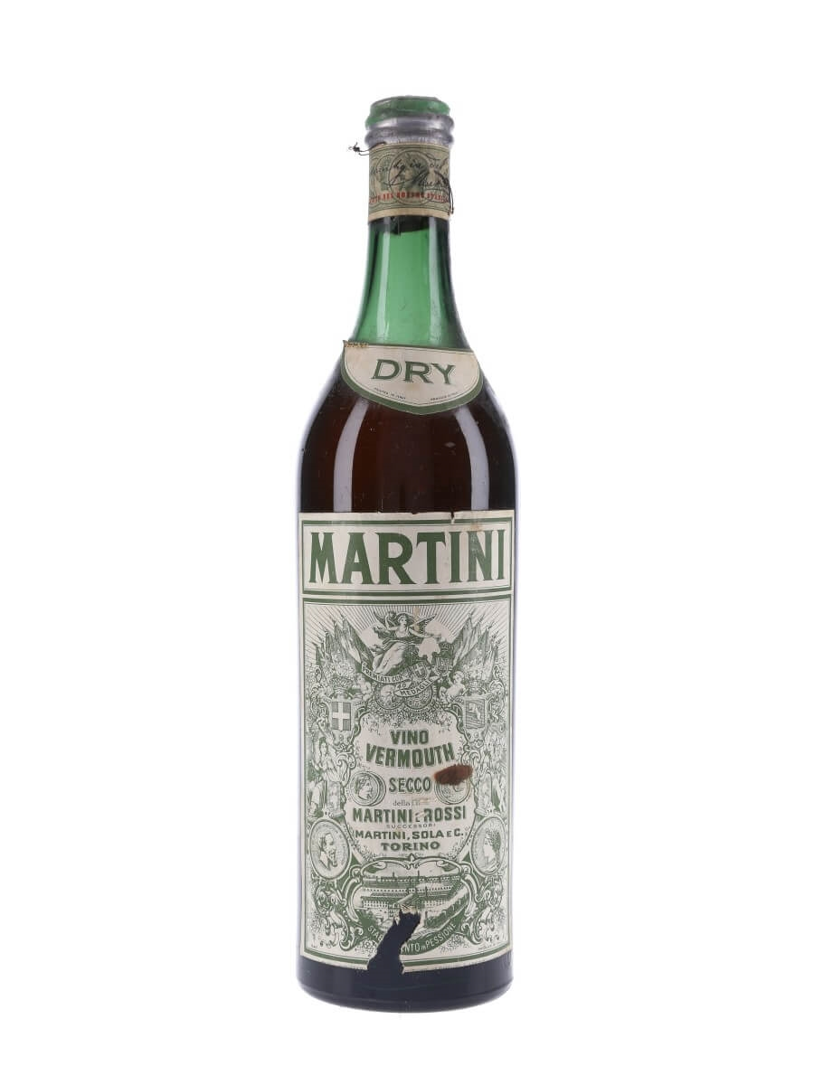 Martini Dry Vermouth  Bot1950s  The Whisky Exchange