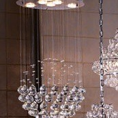 Does Anyone Have An Ideas On How To Make These Chandeliers For Less Any Recommendations What Use Adhere Rhinestones Acrylic Bubbles Lampshades