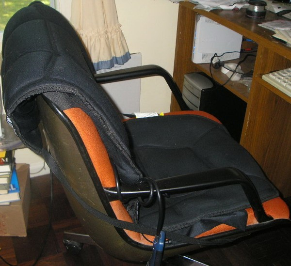 Add Heat And Massage To Your Office Chair  ThriftyFun
