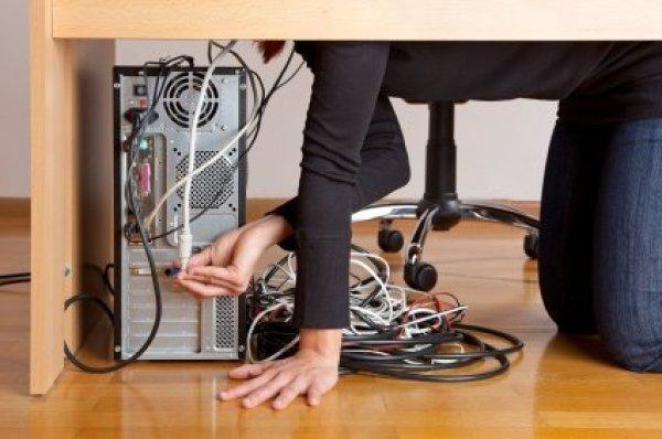 Organizing Computer Wires  ThriftyFun