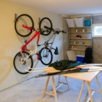 Storing Bicycles on Your Wall   ThriftyFun