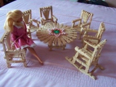 Making Doll Furniture from Clothes Pins  ThriftyFun