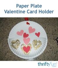 Paper Plate Valentine Card Holder | ThriftyFun