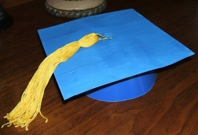 Making Mini Graduation Cap Party Favors ThriftyFun
