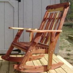Cedar Rocking Chairs Wheelchair Art Chair For Mom Thriftyfun