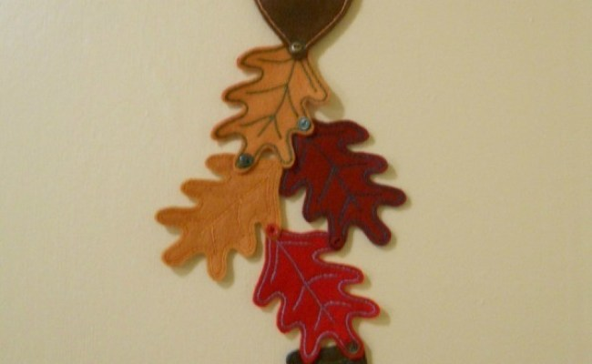 Autumn Felt Wall Or Door Hanging Thriftyfun